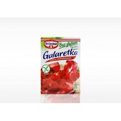 Galaretka o smaku wiśniowym...