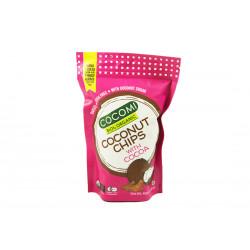 Chipsy kokosowe z kakao...