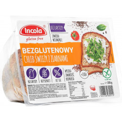 Chleb świeży z ziarnami...